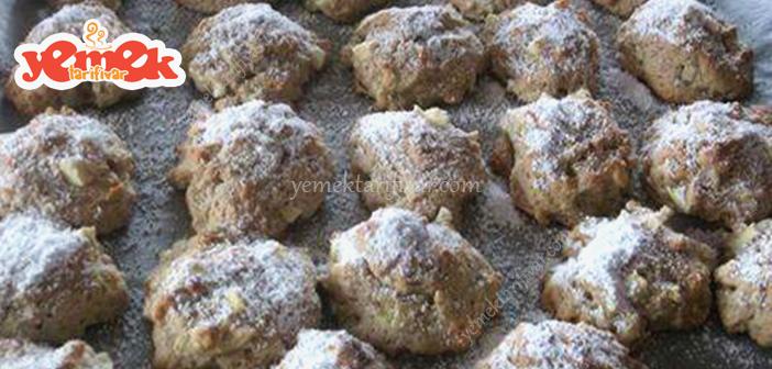 elmalı kaşık kurabiye tarifi