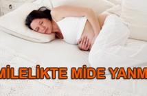 hamilelikte mide yanması nasıl geçer
