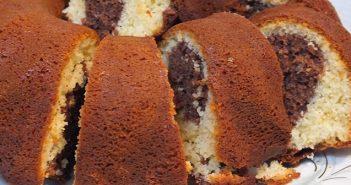 iki renkli kek tarifi