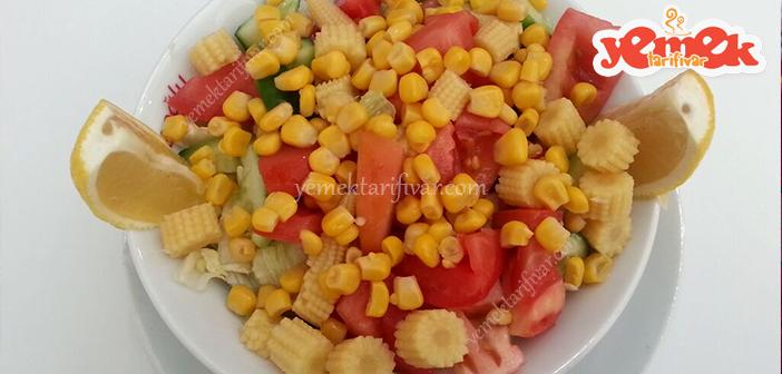 misirli-salata-tarifi Mısırlı Salata Tarifi