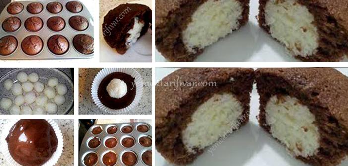 Sürpriz Muffin Tarifi | Yemek tarifi var