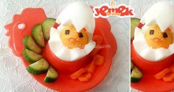 civciv yumurta tarifi
