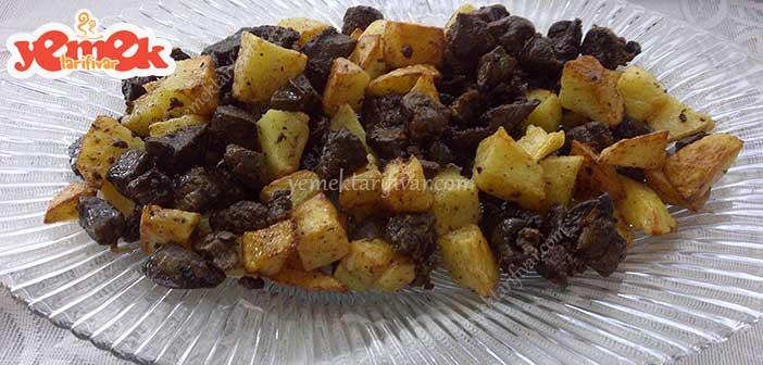 patatesli-ciger-kavurmasi-tarifi Patatesli Ciğer Kavurması Tarifi