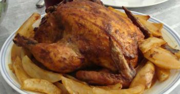 fırında kızarmış bütün tavuk tarifi