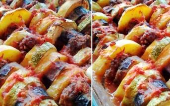 fırında sebzeli köfte dizmesi tarifi yapılışı