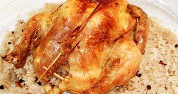 oktay usta iç pilavlı tavuk dolması tarifi