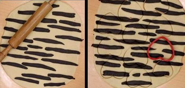 zebra kurabiye yapılışı