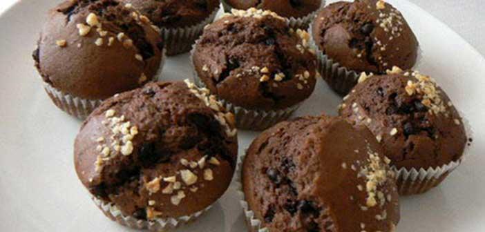 damla çikolatalı mini kek tarifi