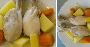 sebzeli tavuk baget haşlama tarifi