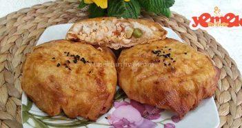 pilavlı tavuklu börek tarifi