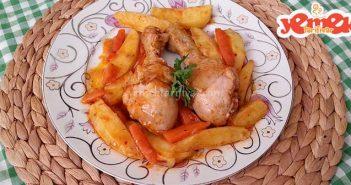 sebzeli tavuk baget tarifi