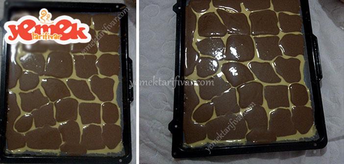 zürafa desenli rulo pasta