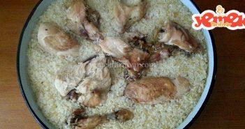 fırında tavuk kapama tarifi nasıl yapılır