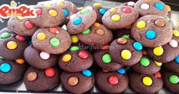 kakaolu bonibonlu kurabiye tarifi