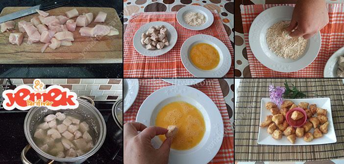 paneli-tavuk-gogsu-kizartma Çıtır Pane Harçlı Tavuk Göğsü Tarifi