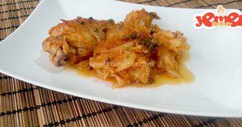 fırında tavuklu kapuska yemeği tarifi