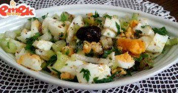 haşlanmış yumurta salatası tarifi