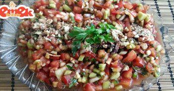 nar ekşili kaşık salata nasıl yapılır