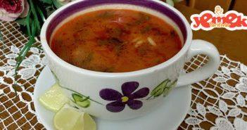 maydanozlu arpa şehriye çorbası tarifi