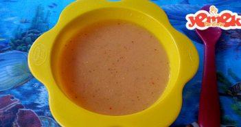 bebekler için tarhana çorbası