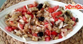 kolay közlenmiş patlıcan salatası tarifi