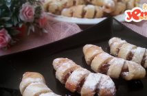 elmalı şerit kurabiye tarifi