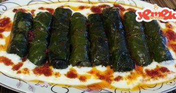 bulgurlu pazı sarması tarifi