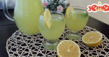 ev yapımı kolay limonata tarifi
