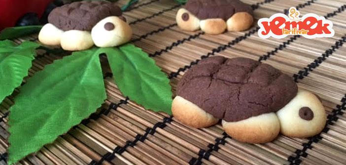 kaplumbağa kurabiye nasıl yapılır