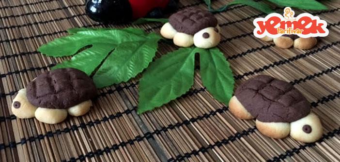 kaplumbağa kurabiye tarifi nasıl yapılır