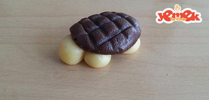 kaplumbağa kurabiye yapılışı