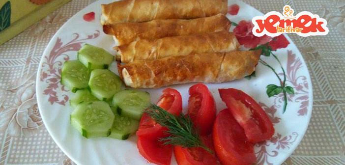 firinda-peynirli-sigara-boregi-tarifi Fırında Peynirli Sigara Böreği Tarifi