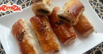 ıspanaklı milföy börek tarifi