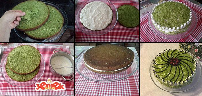 ispanakli-pasta Ispanaklı Pasta Tarifi