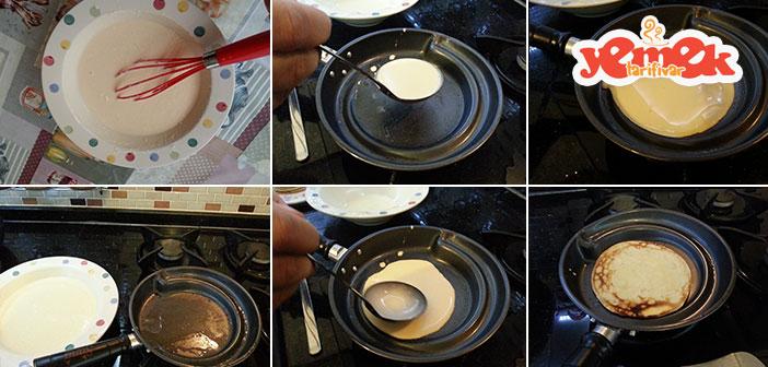 kahvaltılık krep tarifi nasıl yapılır
