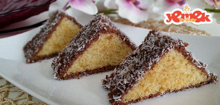 kolay-ucken-kek-tarifi Kolay Üçgen Kek Tarifi