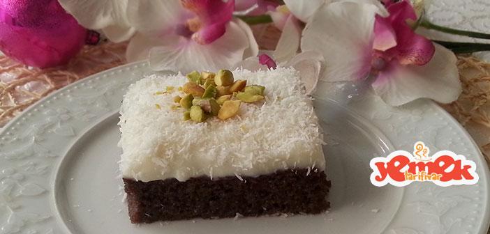 kakaolu-gelin-pastasi Kakaolu Gelin Pastası Tarifi