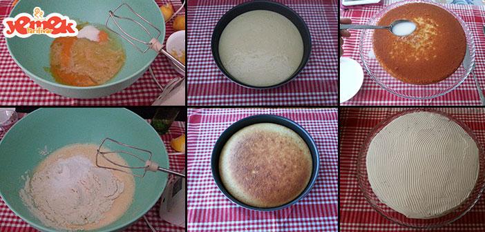 limonlu-islak-kek-yapilisi Limonlu Islak Kek Tarifi