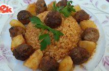 Fırında patatesli misket köfte tarifi