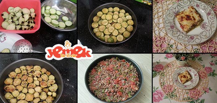 beşamel-soslu-kabakli-ve-patlicali-musakka Kabaklı ve Patlıcanlı Musakka Tarifi