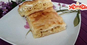 fırında makarnalı börek tarifi