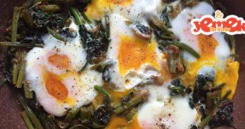 yumurtalı ıspanak kavurması tarifi