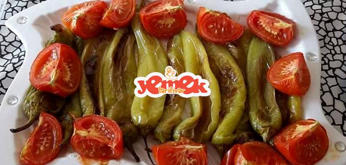 domates-ve-biber-kızartması-tarifi Domates Ve Biber Kızartması Tarifi