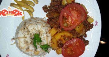 fırında kıymalı patates yemeği tarifi