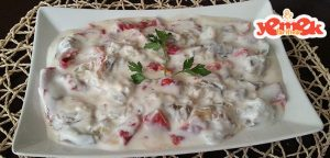 yoğurtlu-közlenmiş-kırmızı-biber-ve-patlıcan-salatası-300x144 yoğurtlu közlenmiş kırmızı biber ve patlıcan salatası