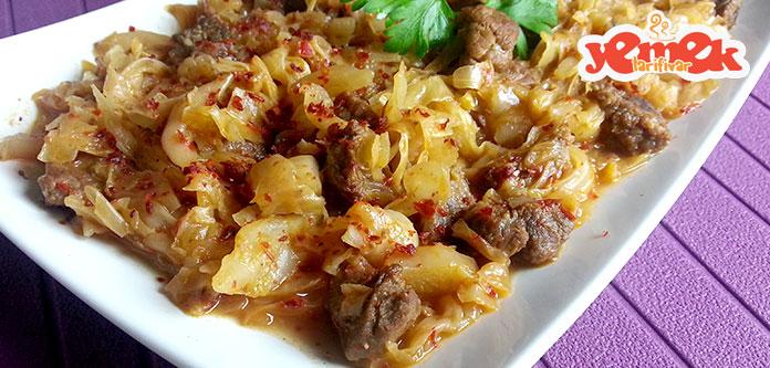 etli-kapuska-yemeği-tarifi Etli Kapuska Yemeği Tarifi